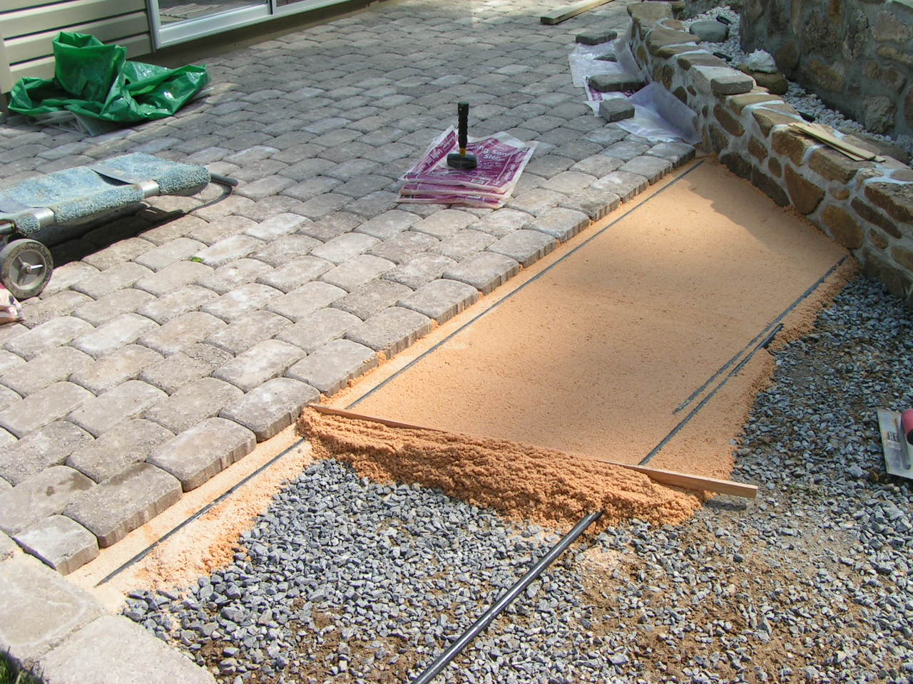 paver layer